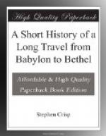 A Short History of a Long Travel from Babylon to Bethel by