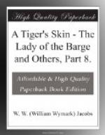 A Tiger's Skin by W. W. Jacobs