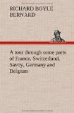 A tour through some parts of France, Switzerland, Savoy, Germany and Belgium by