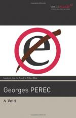 A Void (novel) by Georges Perec