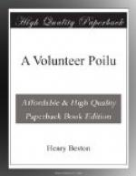 A Volunteer Poilu by Henry Beston