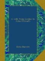 A Walk from London to John O'Groat's by Elihu Burritt