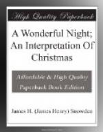 A Wonderful Night; An Interpretation Of Christmas by