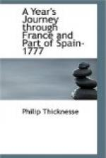 A Year's Journey through France and Part of Spain, 1777 by Philip Thicknesse