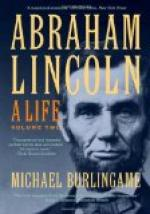 Abraham Lincoln, Volume II by