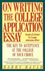 Acceptance Essay to College by