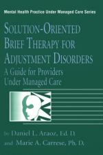 Adjustment disorder by