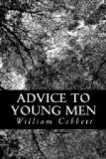 Advice to Young Men by William Cobbett