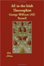 AE in the Irish Theosophist by George William Russell