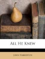 All He Knew by John Habberton