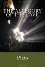 Allegory of the cave by