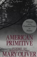 American Primitive: Poems by Mary Oliver
