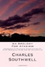 An Apology for Atheism by