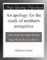 An apology for the study of northern antiquities by Elizabeth Elstob