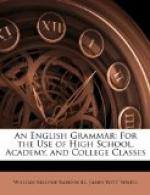 An English Grammar by James Witt Sewell