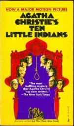 Ten Little Indians by Agatha Christie