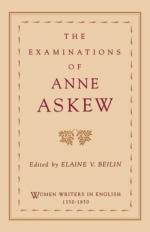 Anne Askew by