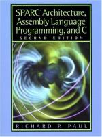 Assembly language by