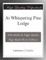 At Whispering Pine Lodge by