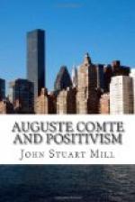 Auguste Comte and Positivism by John Stuart Mill
