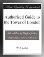 Authorised Guide to the Tower of London by W. J. Loftie