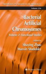 Bacterial artificial chromosome by