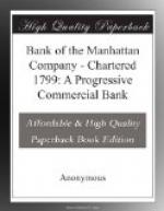 Bank of the Manhattan Company by