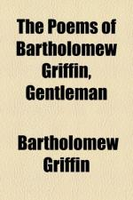 Bartholomew Griffin (BookRags) by