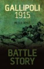 Battle of Gallipoli by