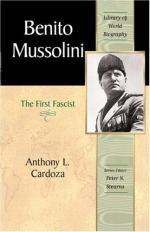 Benito Mussolini by