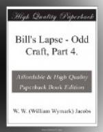 Bill's Lapse by W. W. Jacobs