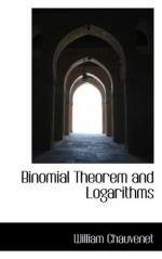 Binomial theorem by