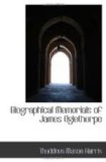 Biographical Memorials of James Oglethorpe by
