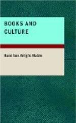 Books and Culture by Hamilton Wright Mabie