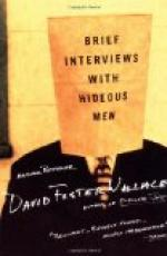 Brief Interviews with Hideous Men by