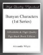 Bunyan Characters (1st Series) by Alexander Whyte