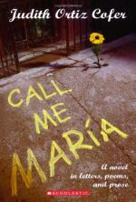 Call Me Maria by Judith Ortiz Cofer