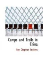 Camps and Trails in China by