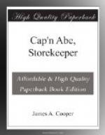 Cap'n Abe, Storekeeper by