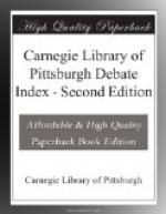 Carnegie Library of Pittsburgh Debate Index by Carnegie Library of Pittsburgh