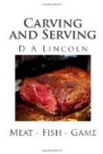 Carving and Serving by