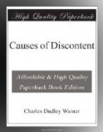 Causes of Discontent by Charles Dudley Warner
