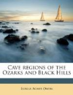 Cave Regions of the Ozarks and Black Hills by
