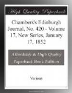 Chambers's Edinburgh Journal, No. 420 by