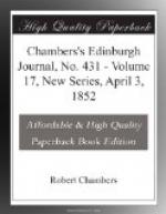 Chambers's Edinburgh Journal, No. 431 by
