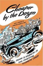 Cheaper by the Dozen by Frank Bunker Gilbreth, Sr.