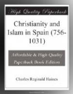 Christianity and Islam in Spain (756-1031) by