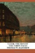 Cleek: the Man of the Forty Faces by