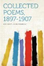 Collected Poems 1897 - 1907 by Henry Newbolt
