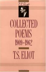 Collected Poems, 1909-1962 by T. S. Eliot